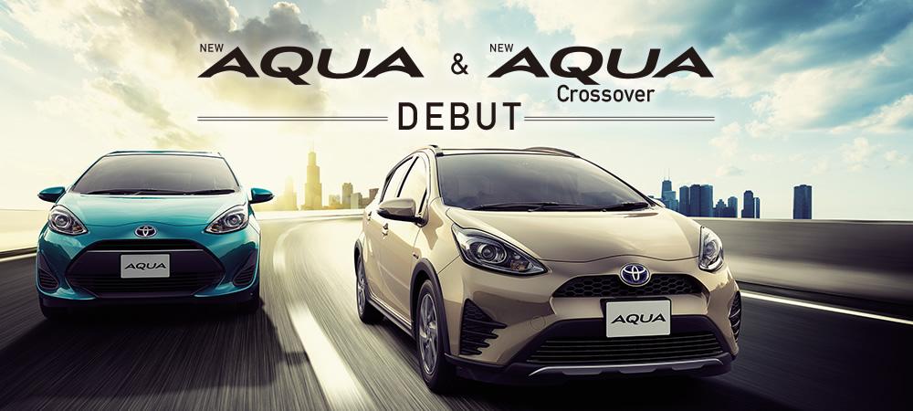 AQUA & AQUA CROSSOVERデビュー